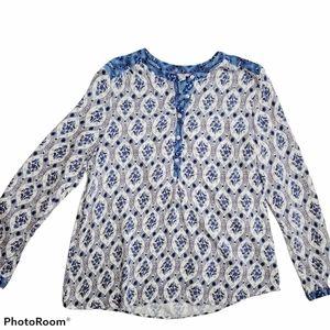 Boden Popover Henley Shirt